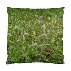 Pink Wildflowers Standard Cushion Case (Two Sides)