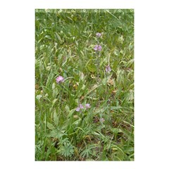 Pink Wildflowers Shower Curtain 48  x 72  (Small)