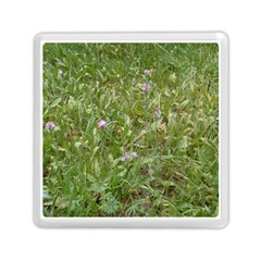 Pink Wildflowers Memory Card Reader (Square)