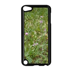 Pink Wildflowers Apple iPod Touch 5 Case (Black)