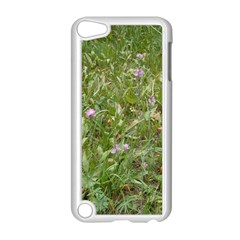 Pink Wildflowers Apple iPod Touch 5 Case (White)