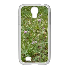 Pink Wildflowers Samsung Galaxy S4 I9500/ I9505 Case (white)