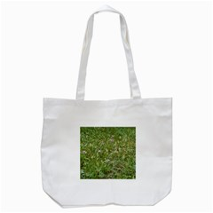 Pink Wildflowers Tote Bag (White)