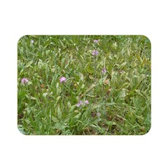 Pink Wildflowers Double Sided Flano Blanket (Mini)