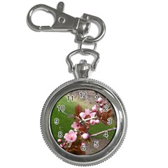 Pink Flowers  Key Chain Watches