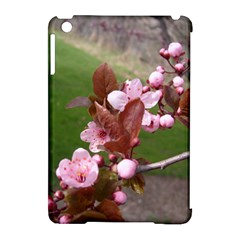 Pink Flowers  Apple iPad Mini Hardshell Case (Compatible with Smart Cover)