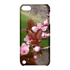 Pink Flowers  Apple iPod Touch 5 Hardshell Case with Stand