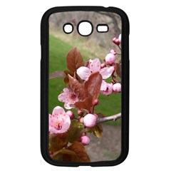 Pink Flowers  Samsung Galaxy Grand DUOS I9082 Case (Black)