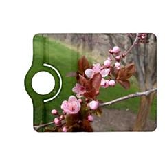 Pink Flowers  Kindle Fire HD (2013) Flip 360 Case
