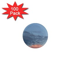 Pink Cloud Sunset 1  Mini Magnets (100 pack)