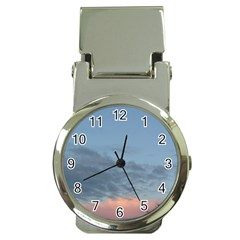Pink Cloud Sunset Money Clip Watches