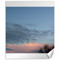 Pink Cloud Sunset Canvas 8  x 10