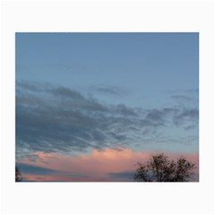 Pink Cloud Sunset Small Glasses Cloth (2-Side)