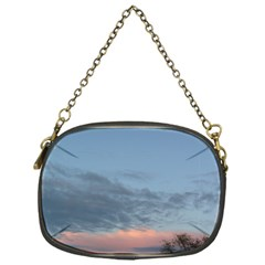 Pink Cloud Sunset Chain Purses (One Side)