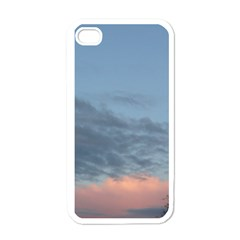 Pink Cloud Sunset Apple iPhone 4 Case (White)