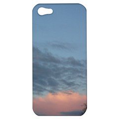 Pink Cloud Sunset Apple iPhone 5 Hardshell Case