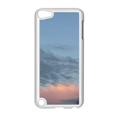 Pink Cloud Sunset Apple iPod Touch 5 Case (White)