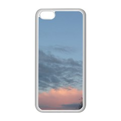 Pink Cloud Sunset Apple iPhone 5C Seamless Case (White)