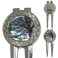 Pine Tree Reaching 3-in-1 Golf Divots