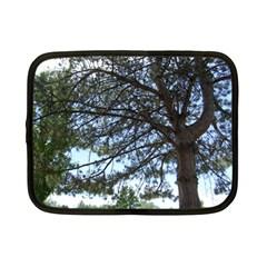 Pine Tree Reaching Netbook Case (Small)
