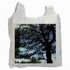 Pine Tree Reaching Recycle Bag (One Side)