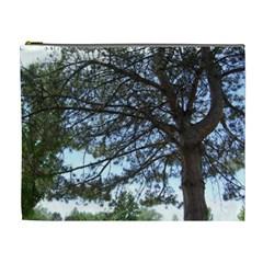 Pine Tree Reaching Cosmetic Bag (xl)