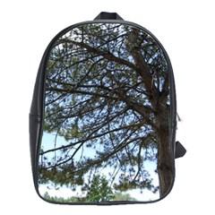 Pine Tree Reaching School Bags(Large)