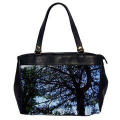 Pine Tree Reaching Office Handbags