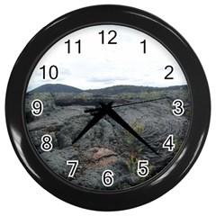 Pillow Lava Wall Clocks (Black)