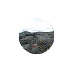 Pillow Lava Golf Ball Marker
