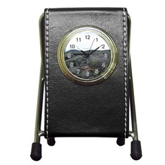 Pillow Lava Pen Holder Desk Clocks