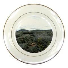 Pillow Lava Porcelain Plates