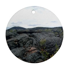 Pillow Lava Round Ornament (Two Sides)
