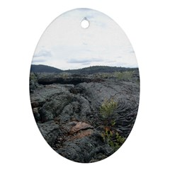 Pillow Lava Oval Ornament (Two Sides)