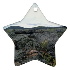 Pillow Lava Star Ornament (Two Sides)