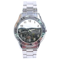 Pillow Lava Stainless Steel Analogue Watch