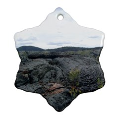 Pillow Lava Ornament (Snowflake)