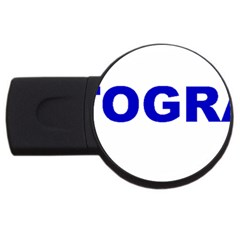 Photography USB Flash Drive Round (2 GB)