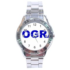 Photography Stainless Steel Analogue Watch