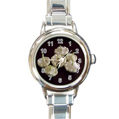 Pattypans  Round Italian Charm Watch