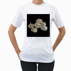 Pattypans  Women s T-Shirt (White) (Two Sided)