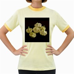 Pattypans  Women s Fitted Ringer T-Shirts