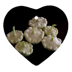 Pattypans  Heart Ornament (Two Sides)