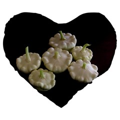 Pattypans  Large 19  Premium Flano Heart Shape Cushions
