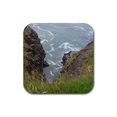 Pacific Ocean 2 Rubber Square Coaster (4 pack)
