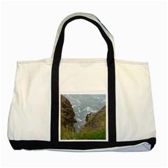 Pacific Ocean 2 Two Tone Tote Bag