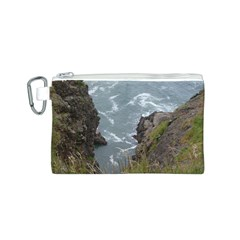 Pacific Ocean 2 Canvas Cosmetic Bag (S)