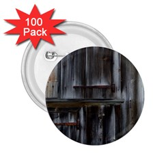 Alpine Hut Almhof Old Wood Grain 2.25  Buttons (100 pack)