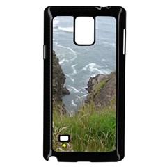 Pacific Ocean 2 Samsung Galaxy Note 4 Case (Black)