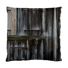 Alpine Hut Almhof Old Wood Grain Standard Cushion Case (Two Sides)